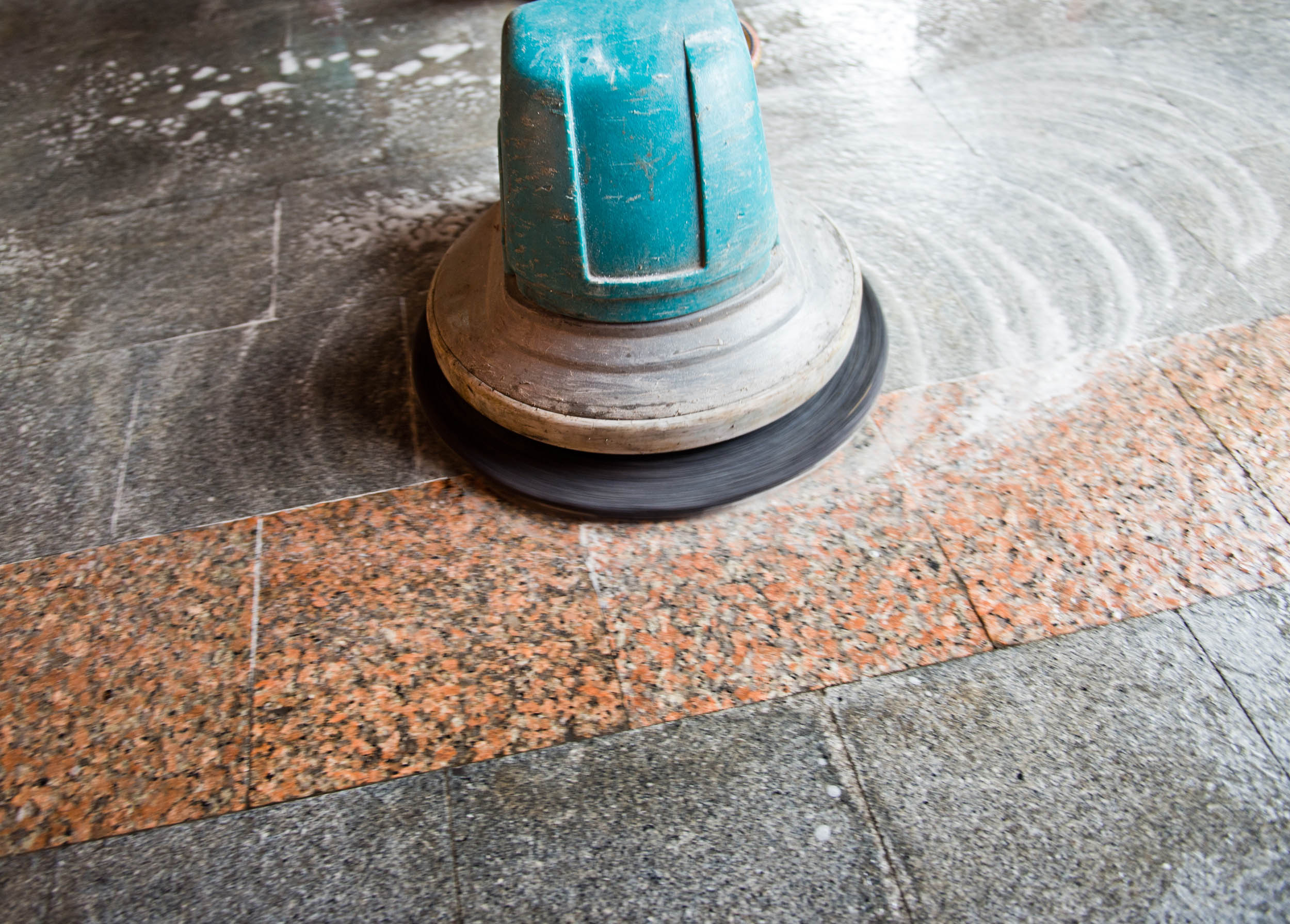Blog Are Different Finishes Possible With Concrete Restoration - How to clean old terrazzo floors
